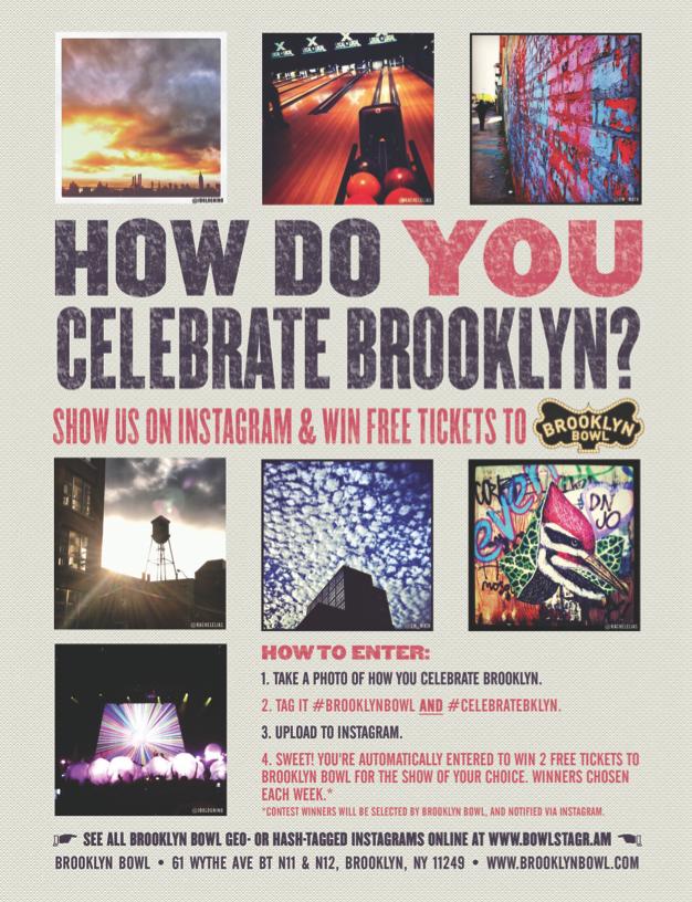 Celebrate Brooklyn Instagram Contest